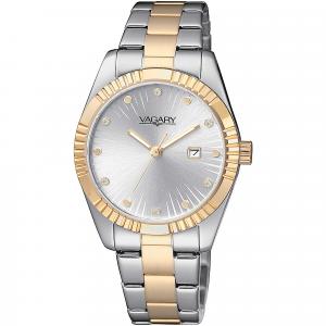 Orologio donna Vagary by Citizen Timeless con cinturino in acciaio bicolore IU2-294-11