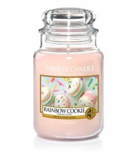 Yankee Candle - RAINBOW COOKIE - GIARA GRANDE