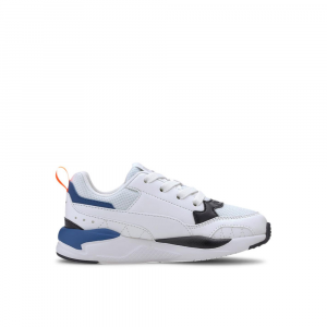 Puma X-Ray Square PS Arancio Bianco Blu Junior