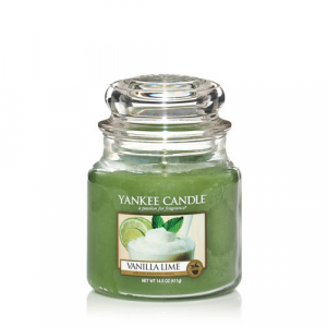 Yankee Candle - VANILLA LIME - GIARA MEDIA