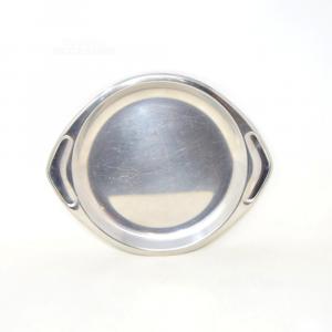 Steel Tray Round Amc Classic 28 Cm In Diameter