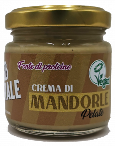 Peeled almond cream - 100% natural