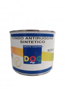 FONDO ANTIRUGGINE SINTETICO ROSSO 500ML