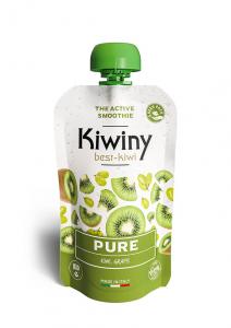 Kiwiny Pure Smoothie (6 pz) - Frullato kiwi e succo d'uva