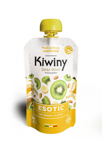 Frullato kiwi, banana e mandorla - Esotic Smoothie