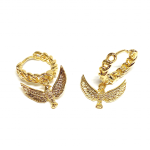 Orecchini Araba fenice oro