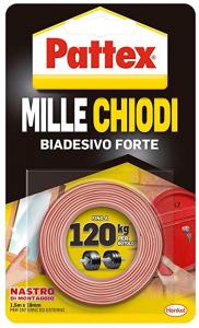 NASTRO BIADESIVO PATTEX MILLECHIODI EXTRAFORTE