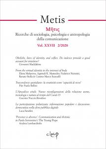 Metis 2020  - Vol. XXVII  2/2020