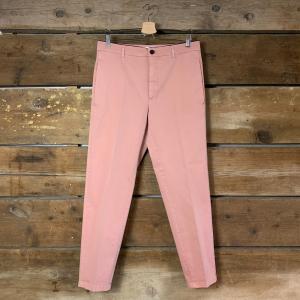 Pantalone Department 5 George Chinos Morbido In Cotone Rosa