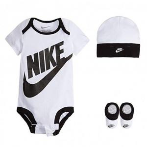 Nike Set Scarpe Cappello e Tutina da culla Fucsia Bianco da Neonato
