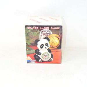 Allarm Clock - Quartz Shape As Panda New