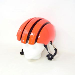 Casco Bici Da Adulto Arancione Carrera, Taglia 55-58 Cm