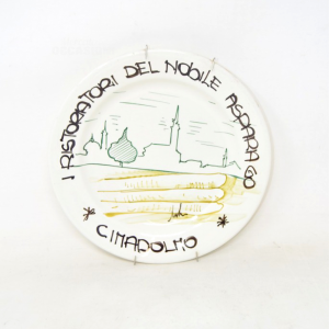 Piatto Da Appendere In Ceramica Cimadolmo