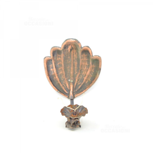 Wall Lamp Copper Shape Of Conchigia