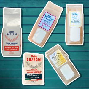 Box farine classiche: 0 00 Sfoglia Dolci Dorata - Spedizione compresa