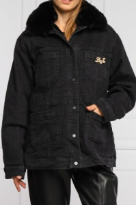 LIU JO UF0066D4533 PARKA BLACK DENIM