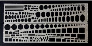 set stencils (tutte le scale)