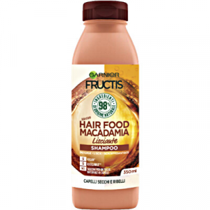 FRUCTIS Shampoo Hair Food Macadamia Lisciante 350ml