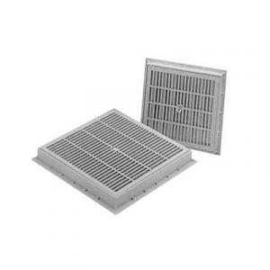 CHIUSINO GRIGLIATO CARRABILE IN PP mm. 400 x 400