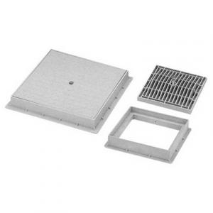 CHIUSINO DI ISPEZIONE CARRABILE IN PP mm. 400 x 400