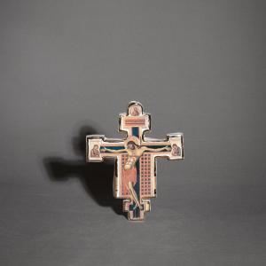 Cristo stile Cimabue in ceramica