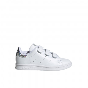 Adidas Stan Smith CF Con Strappi Junior