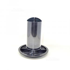 Porta Capsule In Plastica Nero Universale 26 Cm