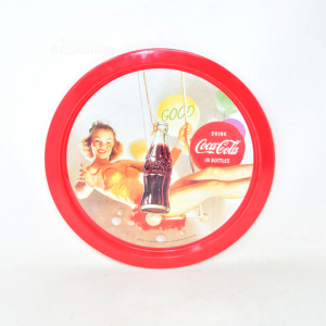 Tray Coca Cola Bordo Red 33 Cm