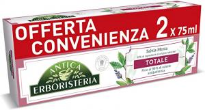 ANTICA ERBORISTERIA Dentifricio Totale 75ml bi-pacco