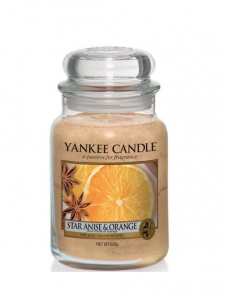 Yankee Candle - STAR ANISE & ORANGE - GIARA GRANDE