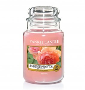 Yankee Candle - SUN-DRENCHED APRICOT ROSE - GIARA GRANDE
