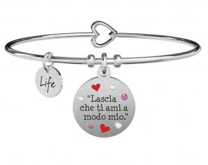 Kidult Bracciale Love, Lascia che ti ami
