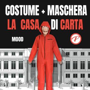 Costume + Maschera LA CASA DI CARTA