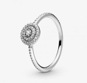 Anello scintillante elegante - 50