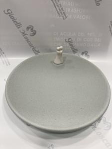 Lineasette bomboniera grigia gres porcellanato PR059A Made in Italy