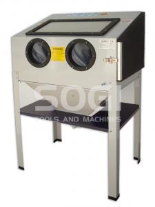 Sabbiatrice pallinatrice SOGI S-85 cabina di sabbiatura professionale
