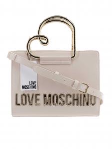 Love Moschino - Borsa a Mano - Avorio