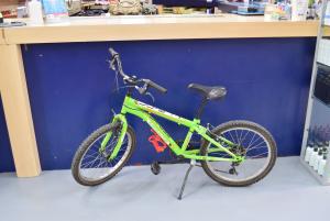 Bicycle Boy Green Mirage