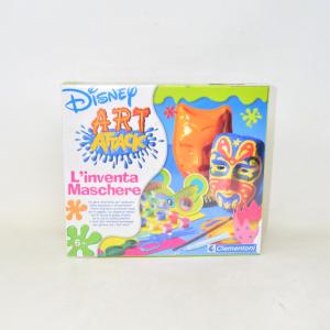 Gioco Disney Art Attack L'inventa Maschere Clementoni Nuovo Anni 6+