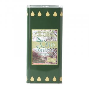 Olio vergine Ogliarola 5L 2020/21 - Olio vergine di oliva Pugliese cultivar Ogliarola Sante in Latta da 5 Litri - Terre di Ostuni-2