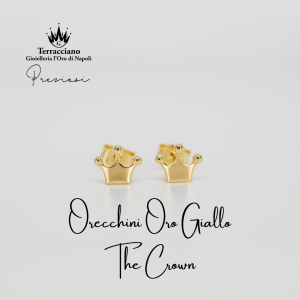 Orecchini The Crown