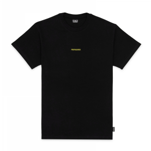 T-Shirt Propaganda Ribs Black Yellow