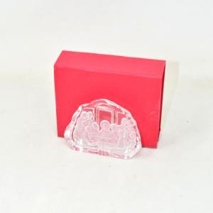Glass Object Last Dinner 9x7 Cm