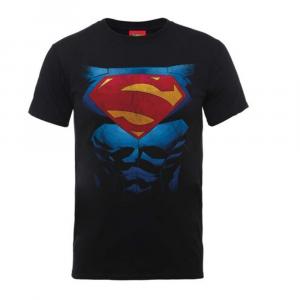 Maglietta Superman pectacular logo taglia XL
