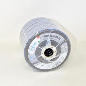 10 Discs Abrasive Per Iron Flap Discs