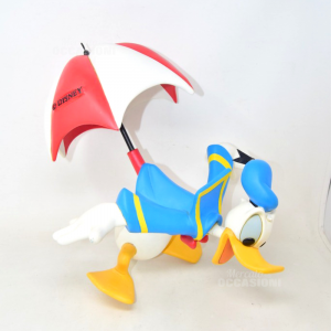 Object Hanging Decoration Depicting Donald Duck Official Disney Defect Neck