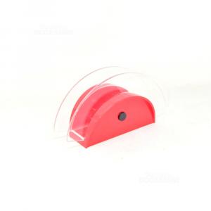 Porta Tovaglioli Guzzini Rosso In Plastica