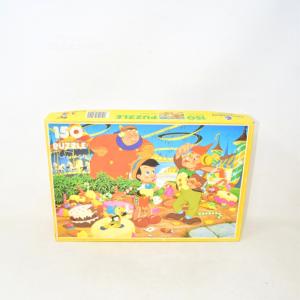 Puzzle Vintage Clementoni Mosaico 150 Pezzi 48.5 X 33.5 Cm Pinocchio
