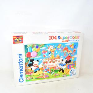Puzzle Clementoni Super Color Maxi 104 Pezzi