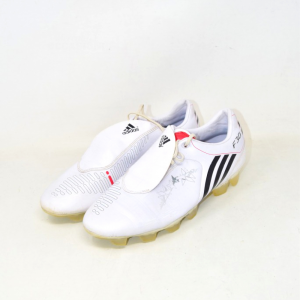 Soccer Shoes F30 Adidas N° 42.2 / 3 White The